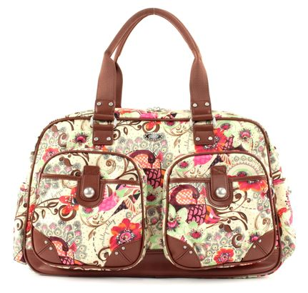 Oilily Tropical Birds Weekender Off White