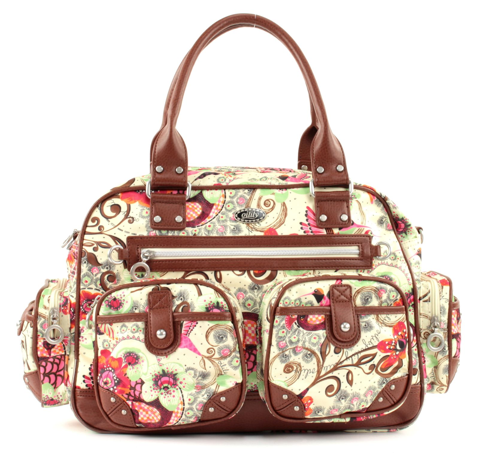 Oilily Tropical Birds Carry All Off White