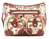 Oilily Tropical Birds Shoulder Bag Off White buy online at modeherz