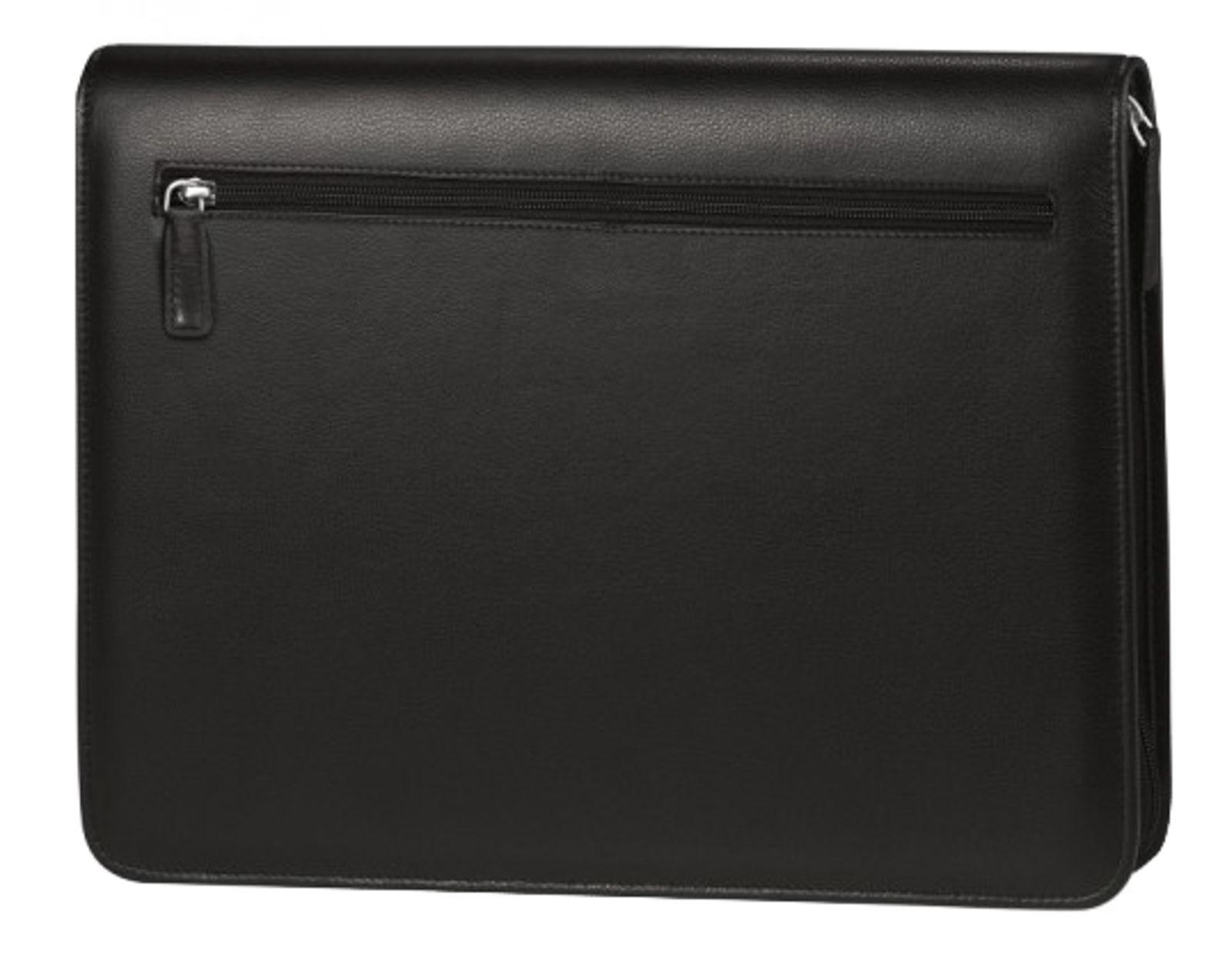 Bodenschatz Schreibmappe / Notebook DIN A4 schwarz