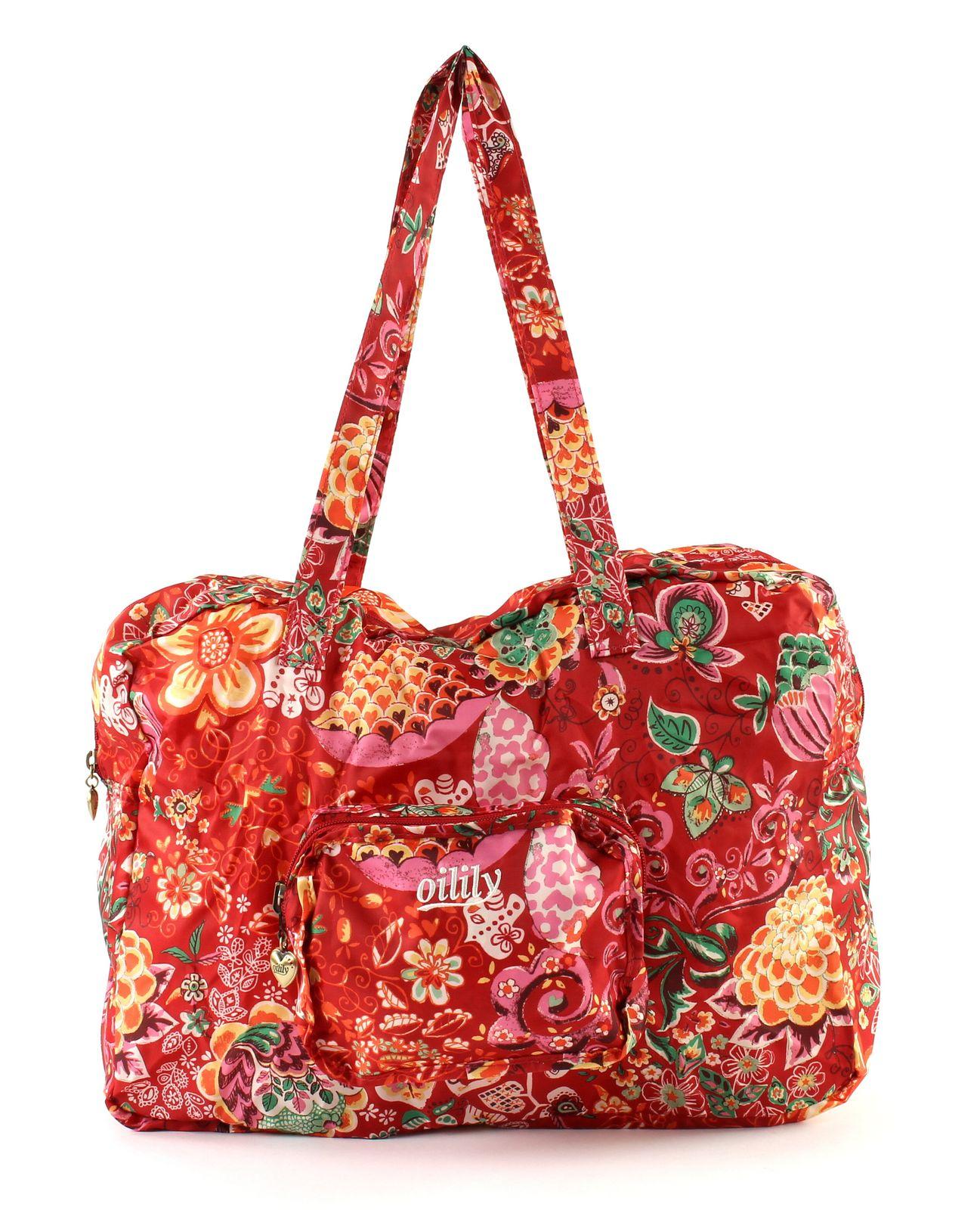 Oilily Folding Shopper Tasche Handtasche Rot Cherry