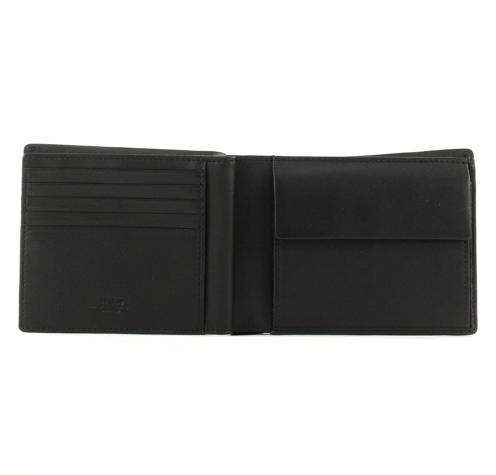 maitre billfold qf purse wallet black. Black Bedroom Furniture Sets. Home Design Ideas