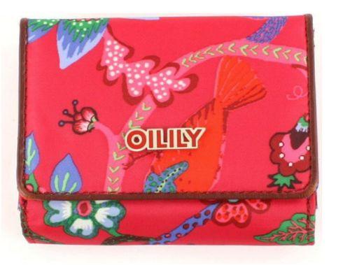 Oilily Flap Wallet Geldbörse Brieftasche Geldbeutel Paradiso Rosa Pink