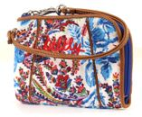Oilily Wrist Wallet Purse Geldbeutel Dutch Flower Blue buy online at modeherz