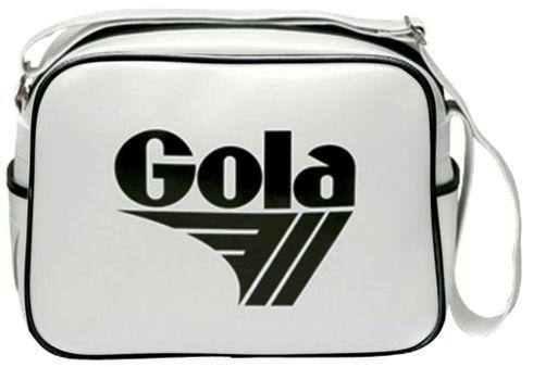 Gola Redford Bag Tasche Schultertasche Weiß Schwarz White Black