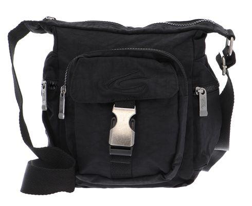 Camel Active Shoulderbag Tasche Umhängetasche Journey Schwarz Black