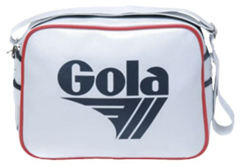 Gola Redford Bag Shoulder White Blue Navy Red