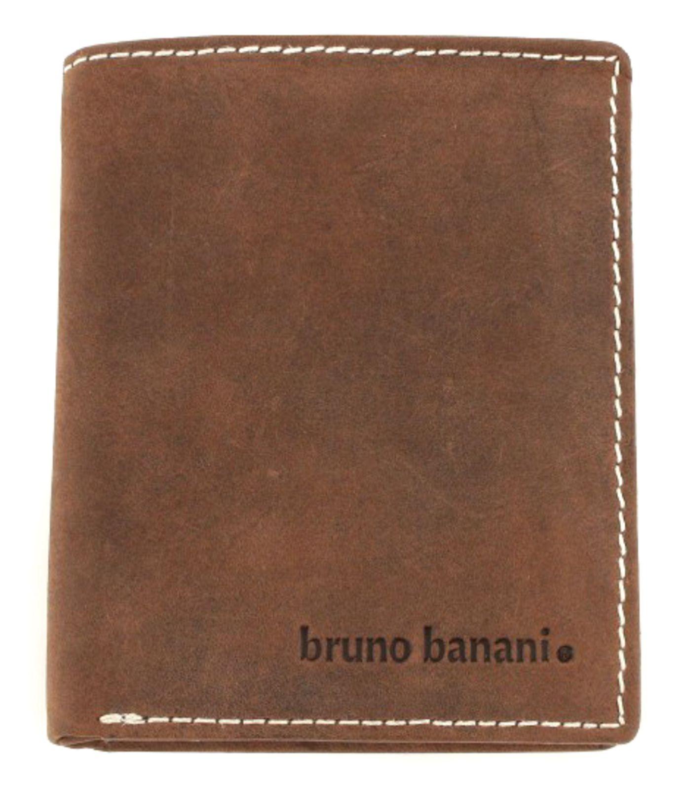 bruno banani Phoenix Scheintasche Hoch Geldbörse Portemonnaie Braun