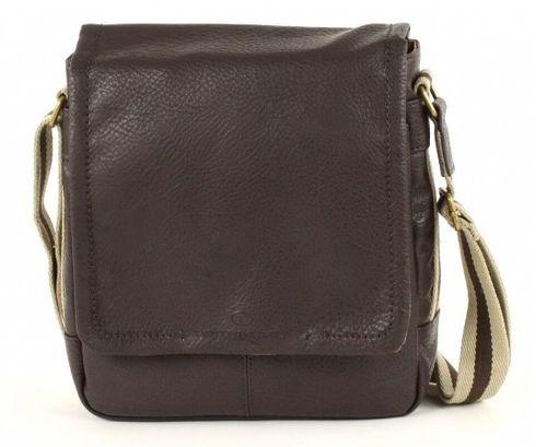 TOM TAILOR Kentucky Postbag Small Brown