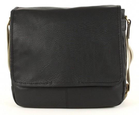 tom tailor cross body bag kentucky postbag medium black. Black Bedroom Furniture Sets. Home Design Ideas
