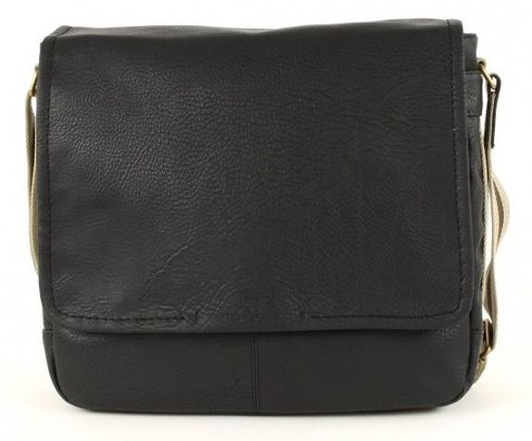 TOM TAILOR Kentucky Postbag Medium Black