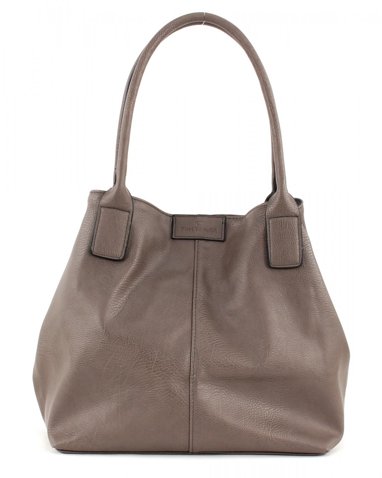 tom tailor miripu shopper braun tasche handtasche. Black Bedroom Furniture Sets. Home Design Ideas