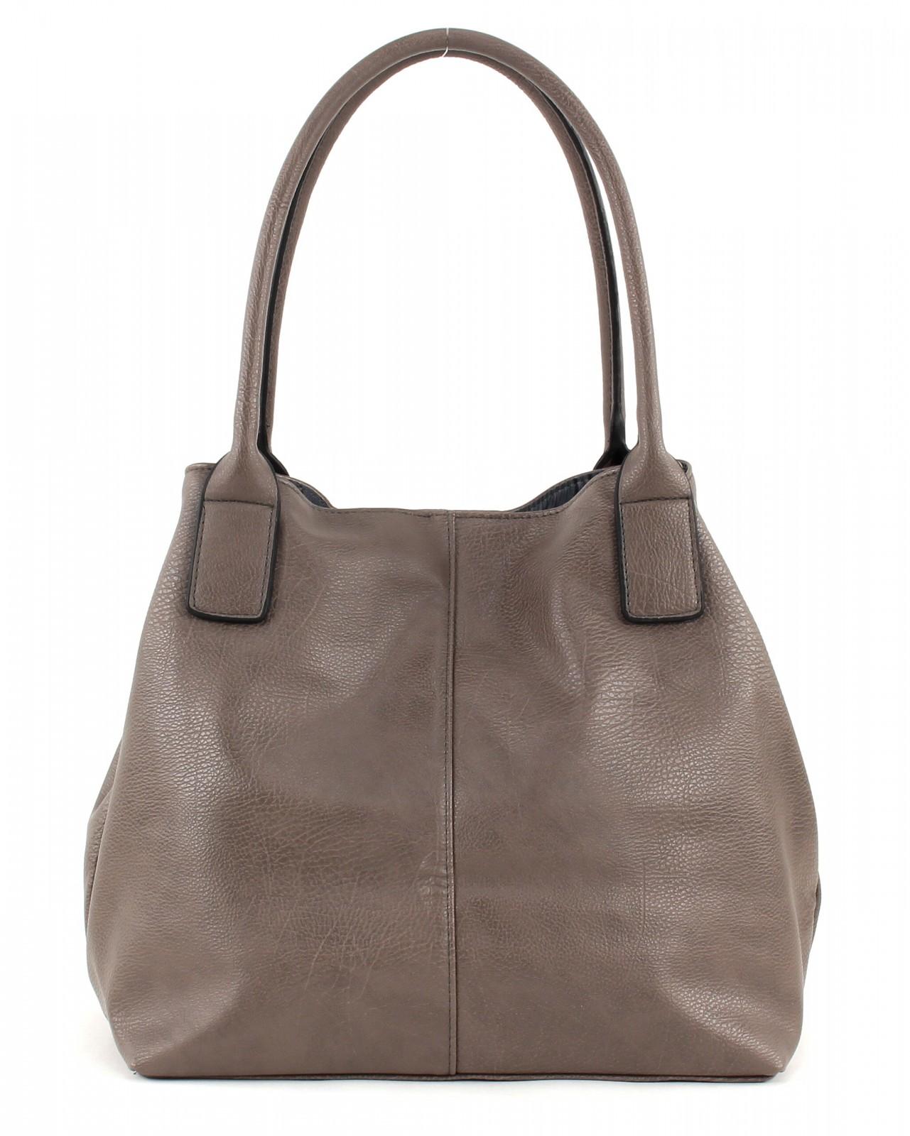 tom tailor miripu shopper braun tasche handtasche ebay. Black Bedroom Furniture Sets. Home Design Ideas