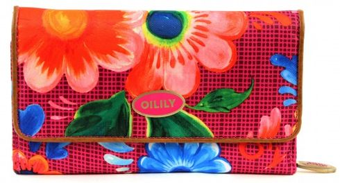 Oilily Russian Rose L Wallet Fuchsia