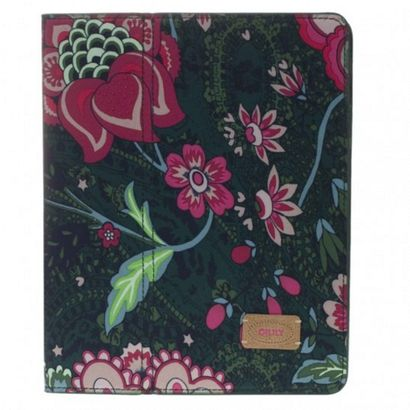 Oilily Paisley Flower iPad Case Green