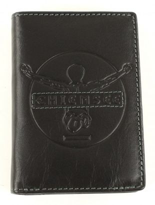 CHIEMSEE Original Four Leather Wallet Black