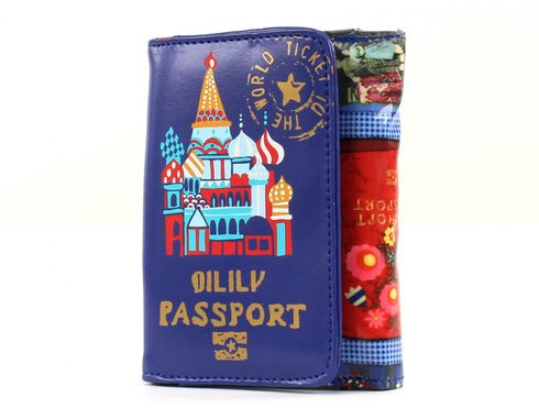 Oilily Tickets S Wallet Blue
