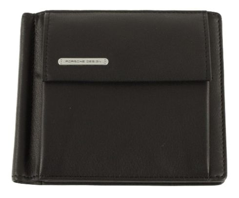 PORSCHE DESIGN CL2 2.0 Billfold C6 Black