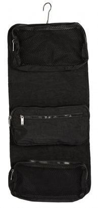 Camel Active Journey Roll Up Wash Bag Black