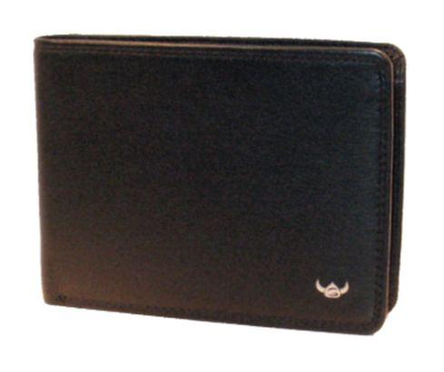 Golden Head Polo Wallet Black