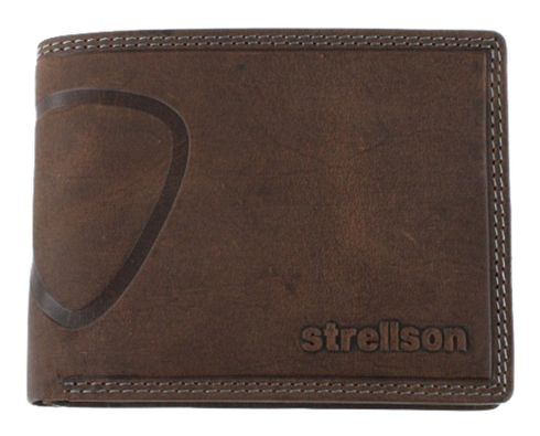 strellson Baker Street Billfold H7 Dark Brown