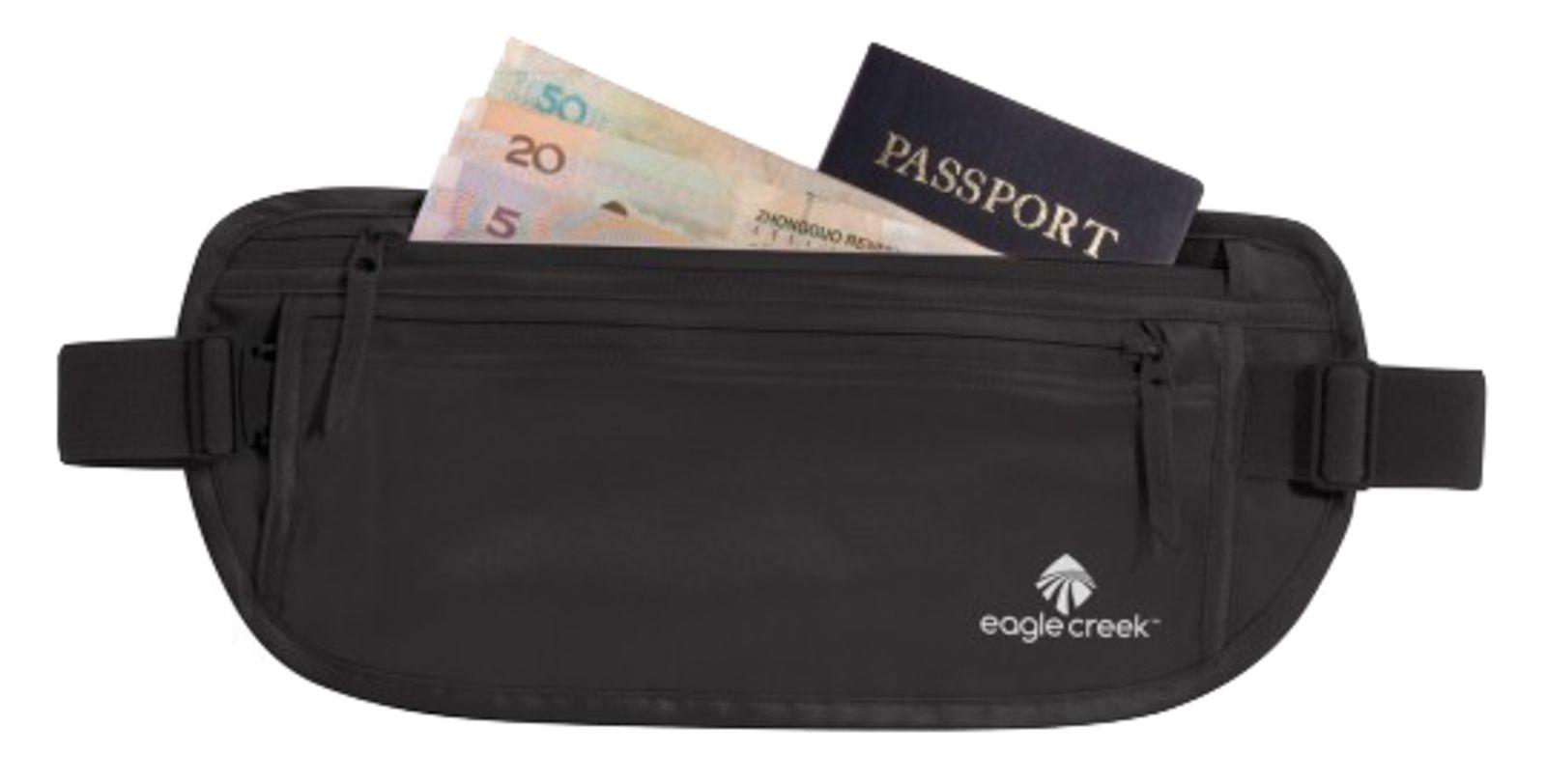 eagle creek Security Silk Undercover Money Belt Black