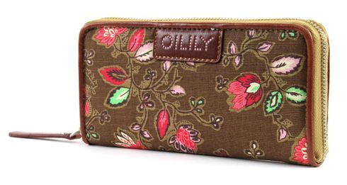 Oilily Dunga Travel Wallet Coffee