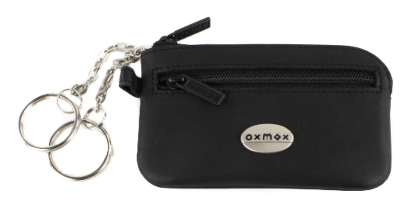 oxmox Leather Keyholder Black