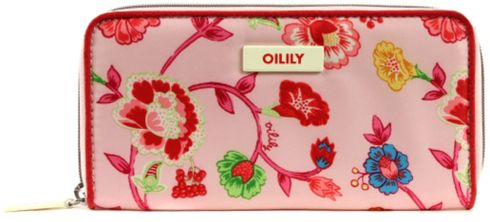 Oilily Classic Ivy Travel Wallet Light Rose