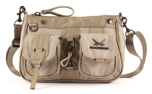 Sansibar Calima Zip Bag Taupe