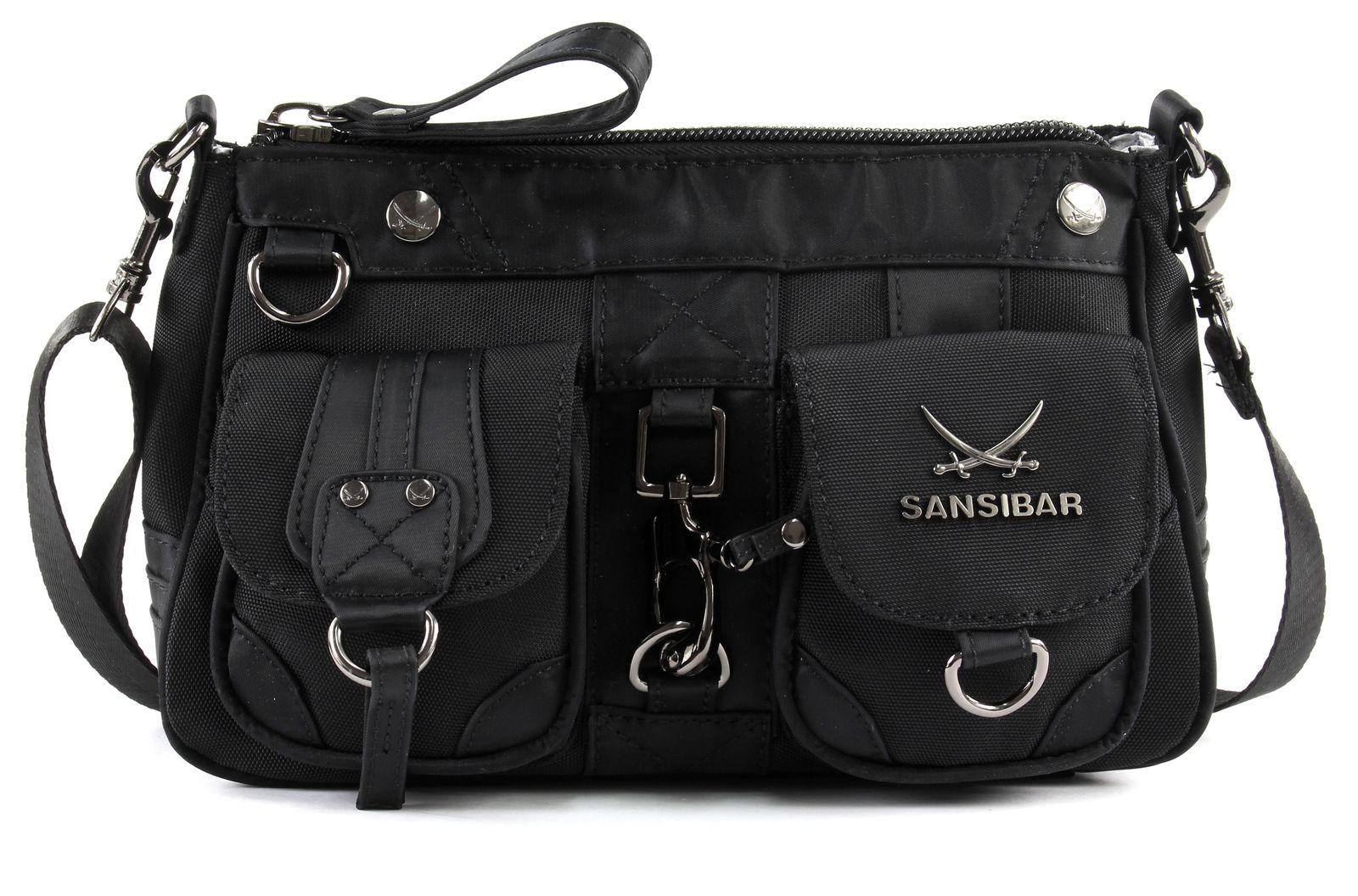 Sansibar Calima Zip Bag Black