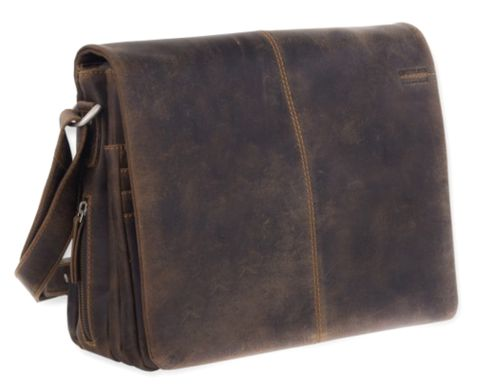 GreenLand Westcoast Organizerbag A4 Buffalo-Brown