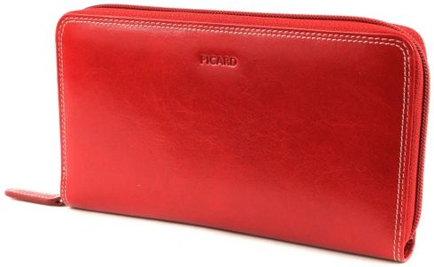 PICARD Porto Zip Wallet Red