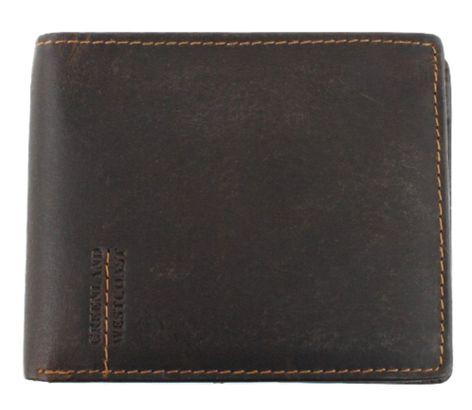 GreenLand Westcoast Flap Wallet Buffalo-Brown