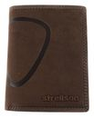 strellson Baker Street Billfold V8 Dark Brown buy online at modeherz