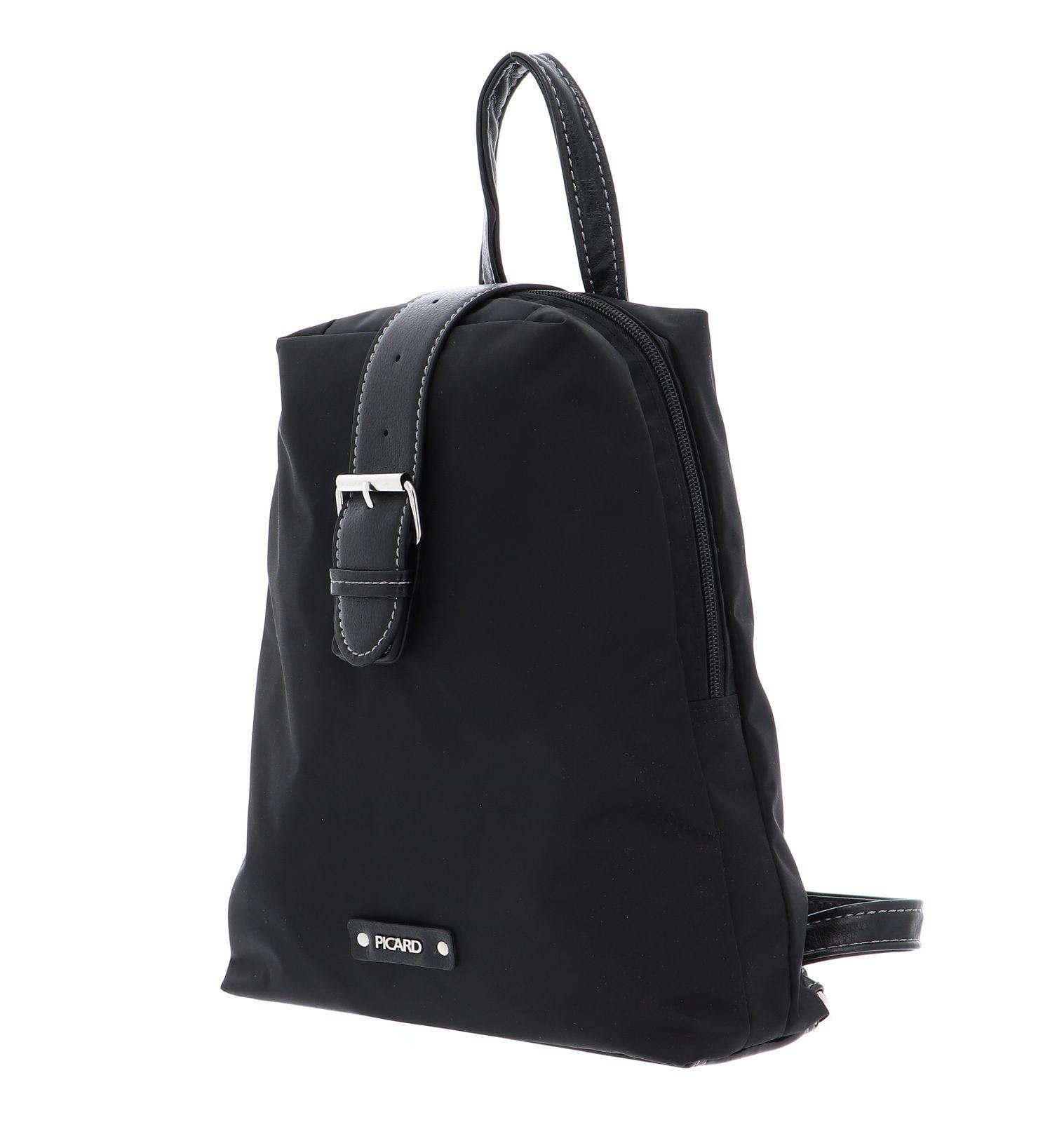 PICARD Sonja Backpack Shoulderbag Schwarz