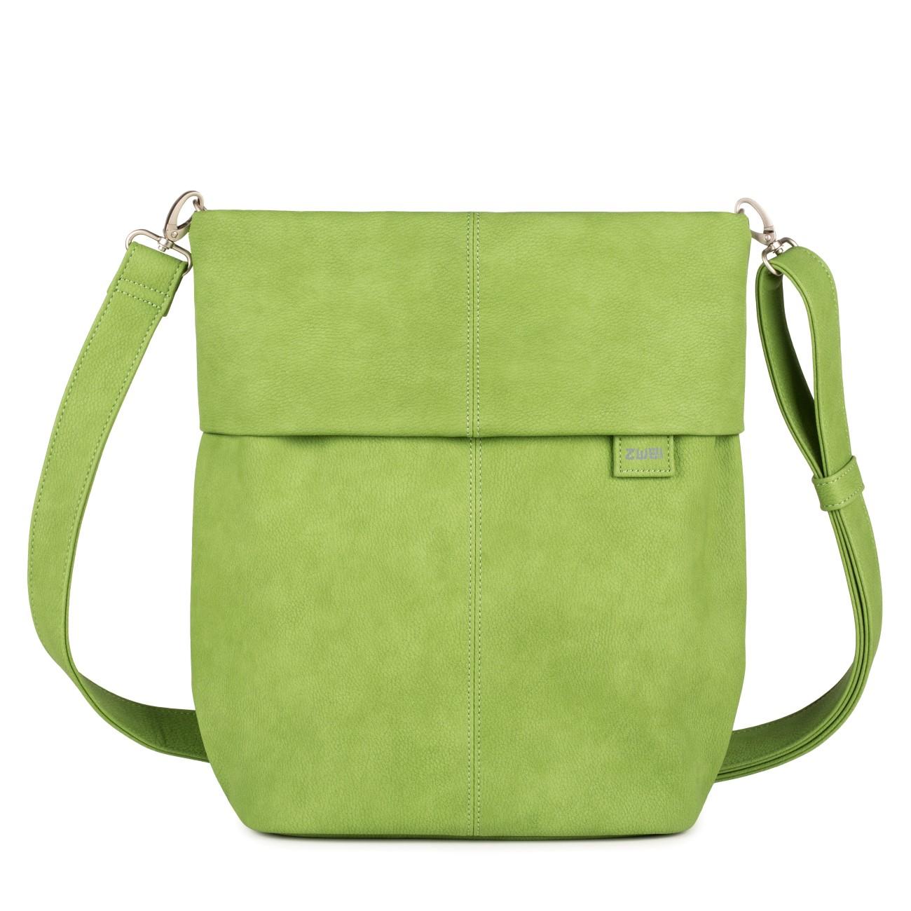 zwei umh ngetasche mademoiselle m12 nubuk green. Black Bedroom Furniture Sets. Home Design Ideas