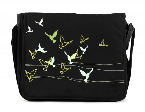 Lässig Casual Messenger Bag Flock of Birds