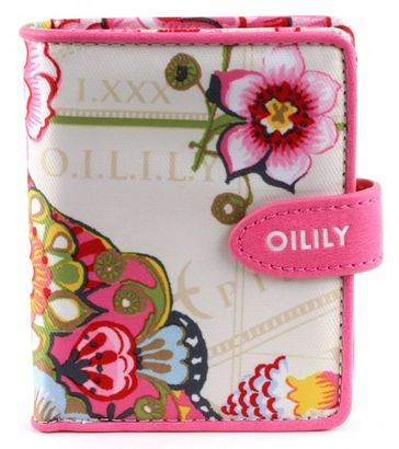 Oilily Fantasy Flora S Flap Wallet Cream