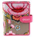 Oilily Fantasy Flora S Flap Wallet Mocca online kaufen bei modeherz