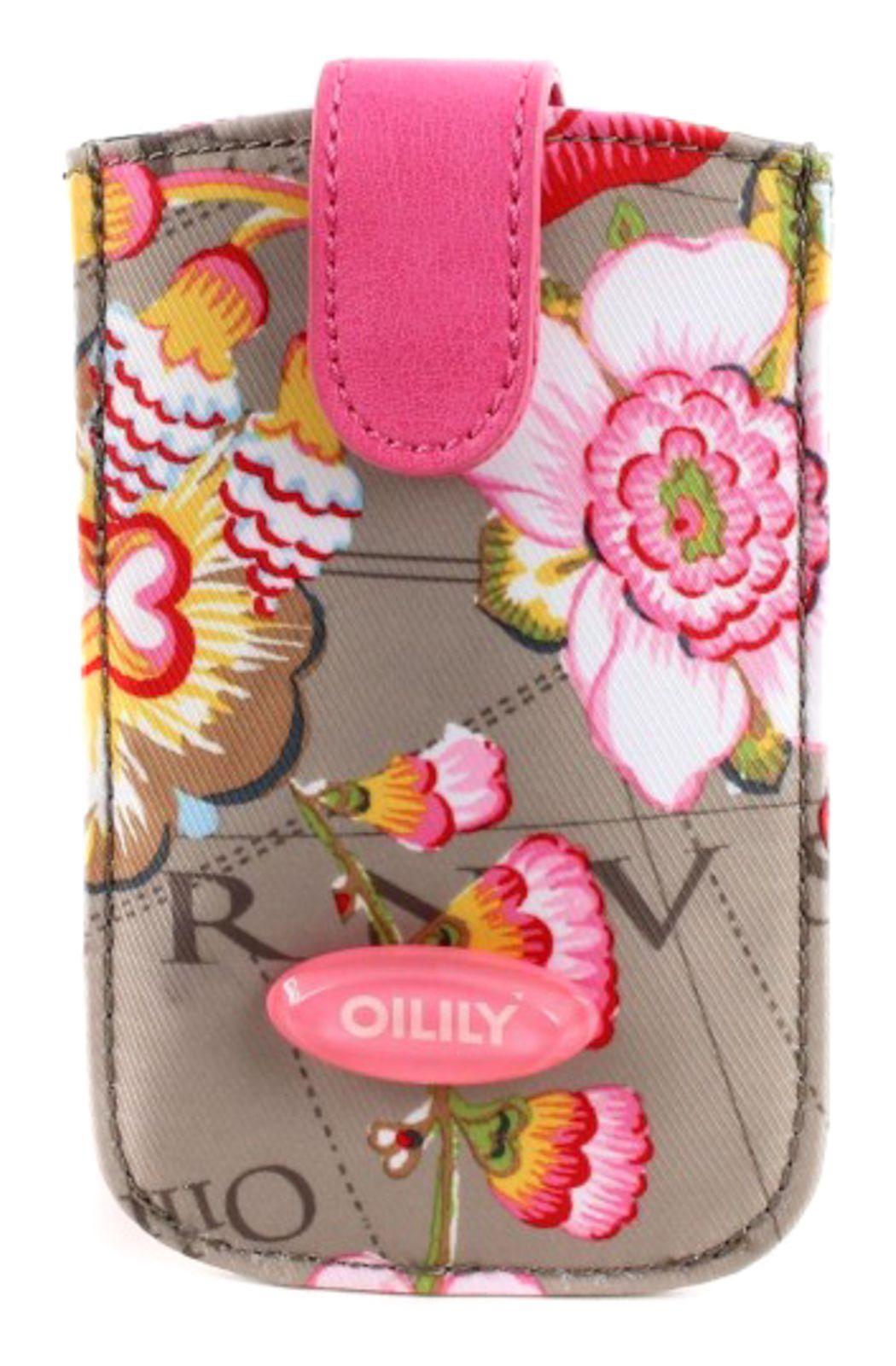 Oilily Fantasy Flora Smartphone Pull Case Mocca