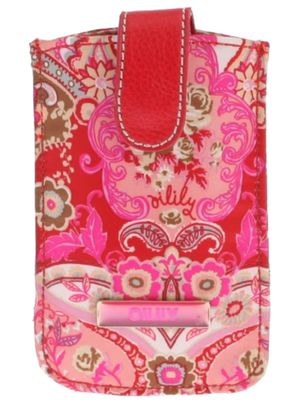 Oilily Summer Mosaic Smartphone Pull Case Strawberry
