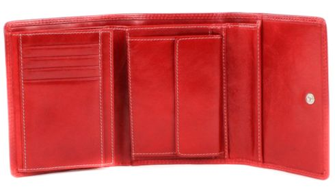 PICARD Porto Trifold Wallet Rot