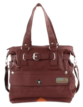 KangaROOS Jean Shopper Bag Chestnut