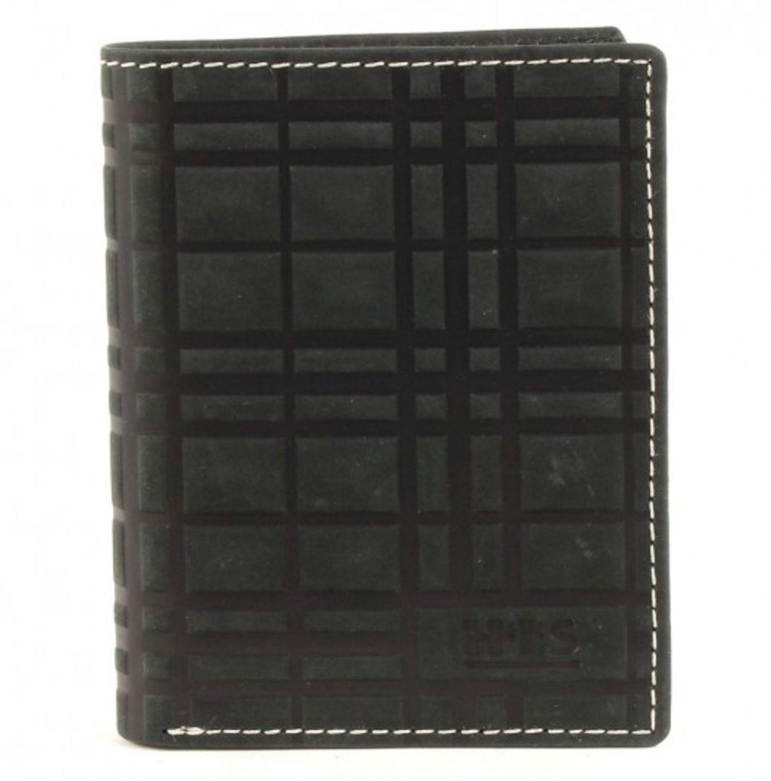 H.I.S Börse Hochformat Black