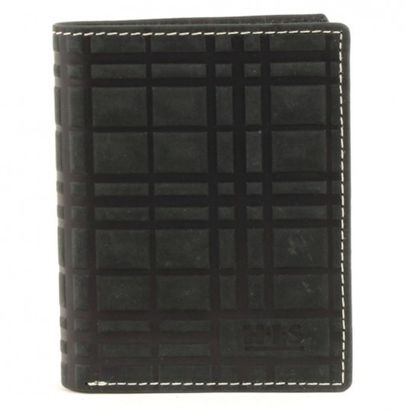 H.I.S Wallet High Black