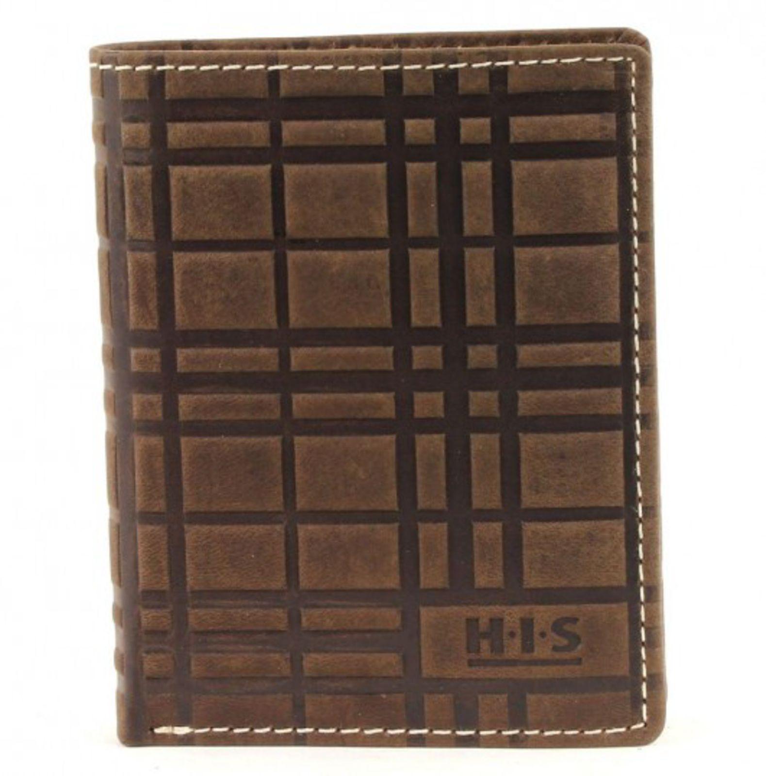 H.I.S Börse Hochformat Brown