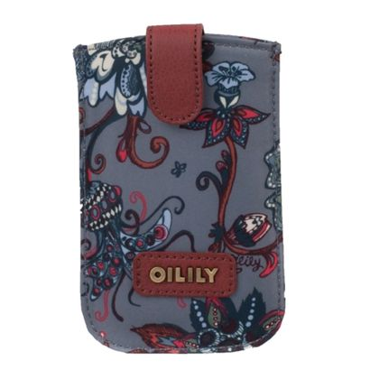 Oilily Sea of Flowers Smartphone Pull Case Rock