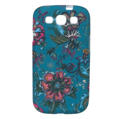 Oilily Sea of Flowers Samsung Galaxy SIII Case Deep Ocean