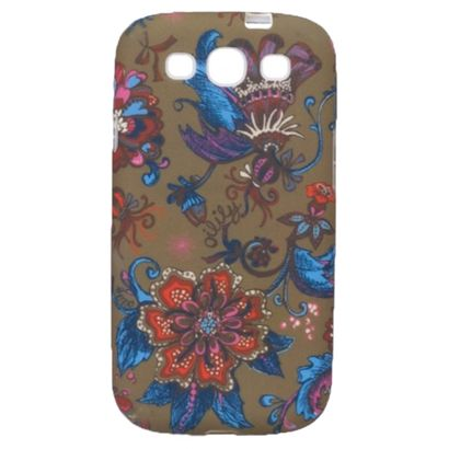Oilily Sea of Flowers für Galaxy SIII Case Bronze
